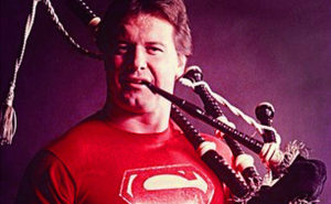 Roddy Piper and his Bagpipes