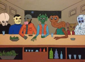 star wars cantina art