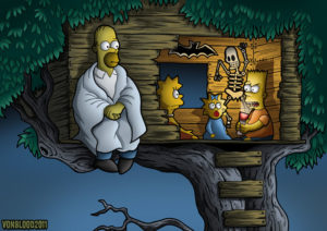 simpsons treehouse or horror